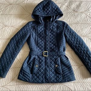 TOMMY HILFIGER Quilted Navy Puffer Jacket